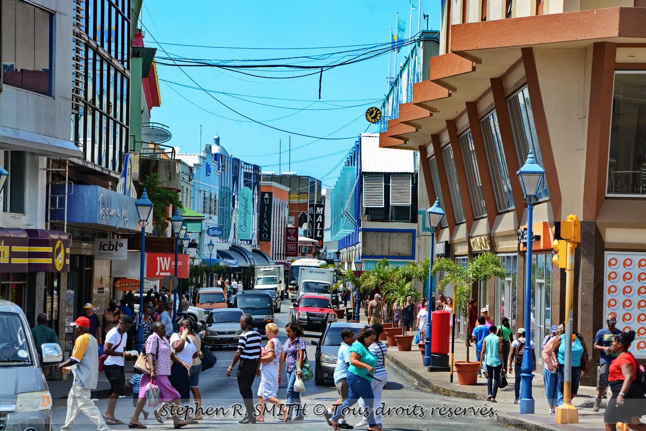 Bridgetown, ville capitale de la Barbade - www.labarbade.com