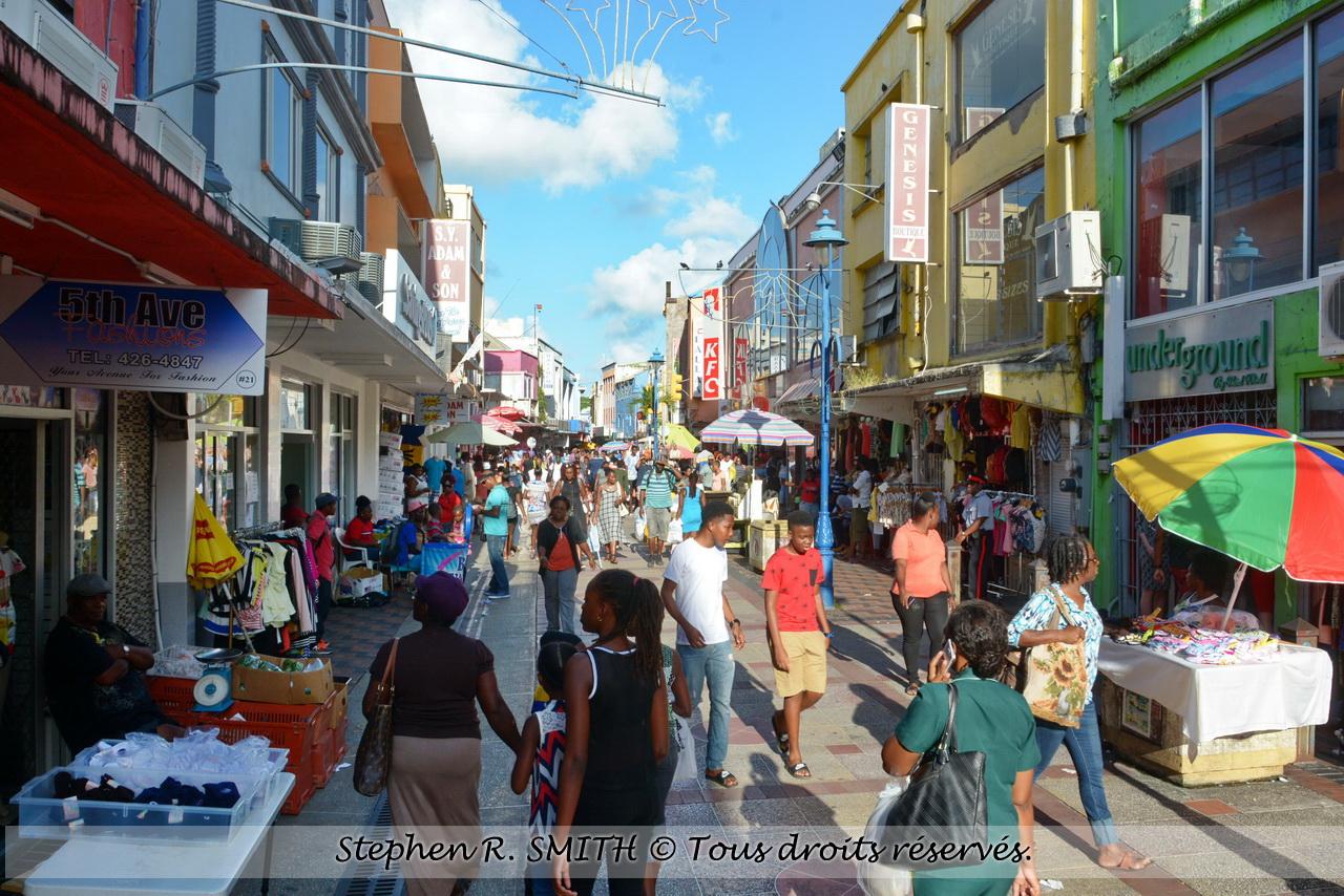 Bridgetown - ville capitale de la Barbade - www.labarbade.com