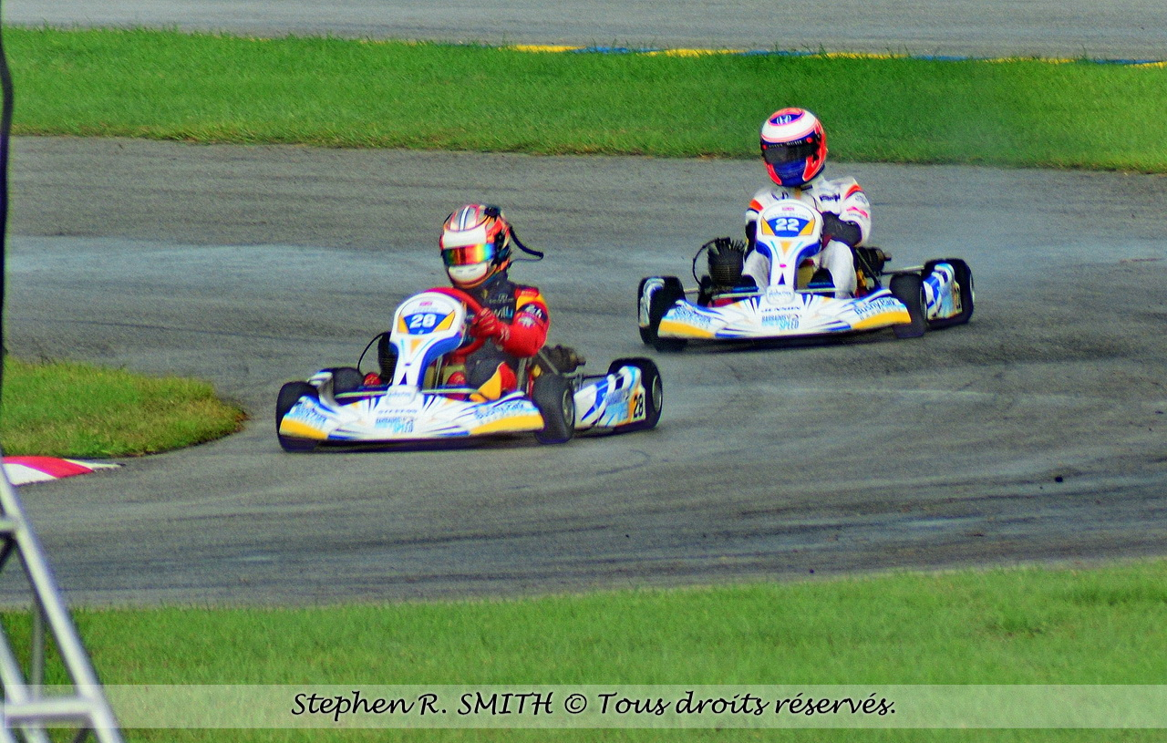Festival of Speed - BUTTON et STEVENS - go-karts
