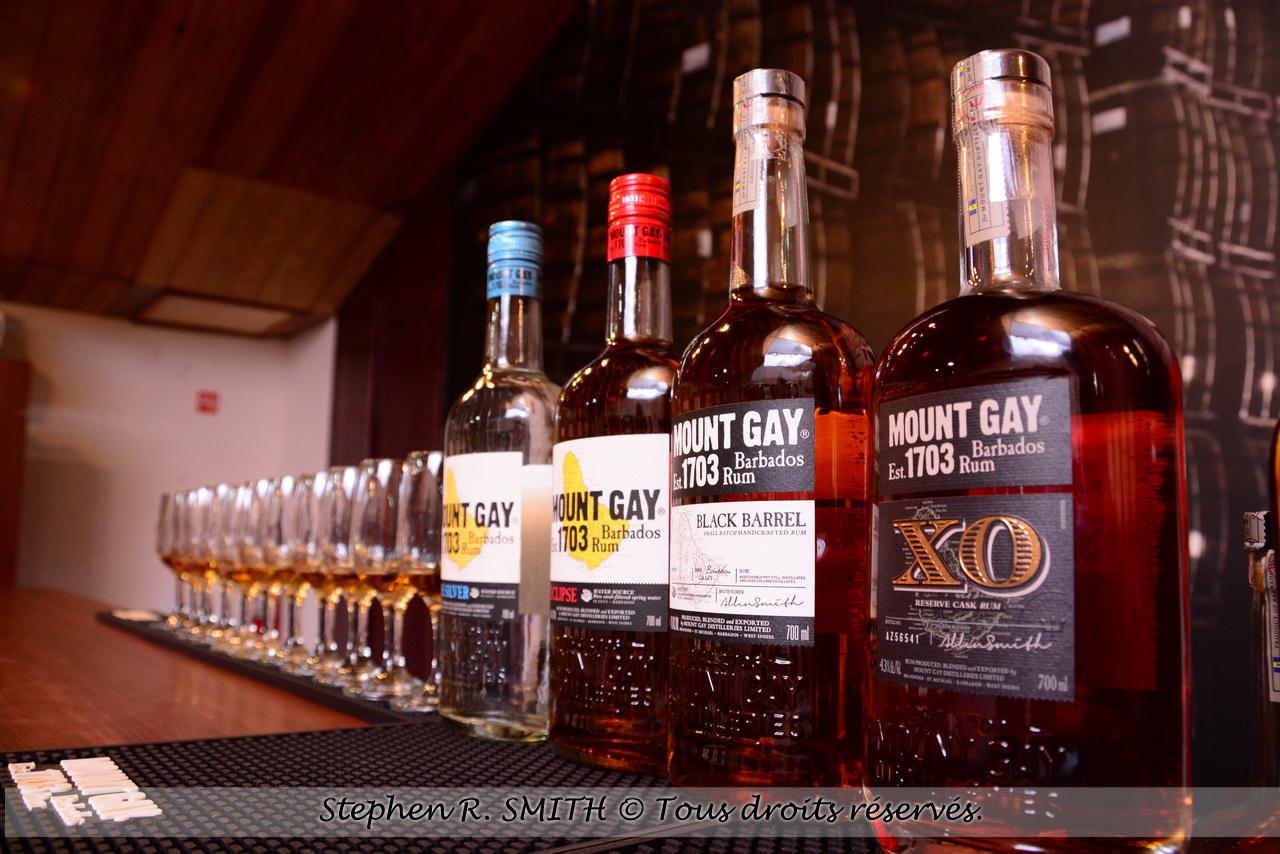 Mount Gay Rum - le plus vieux rhum du monde -5 bonnes raisons de visiter la Barbade