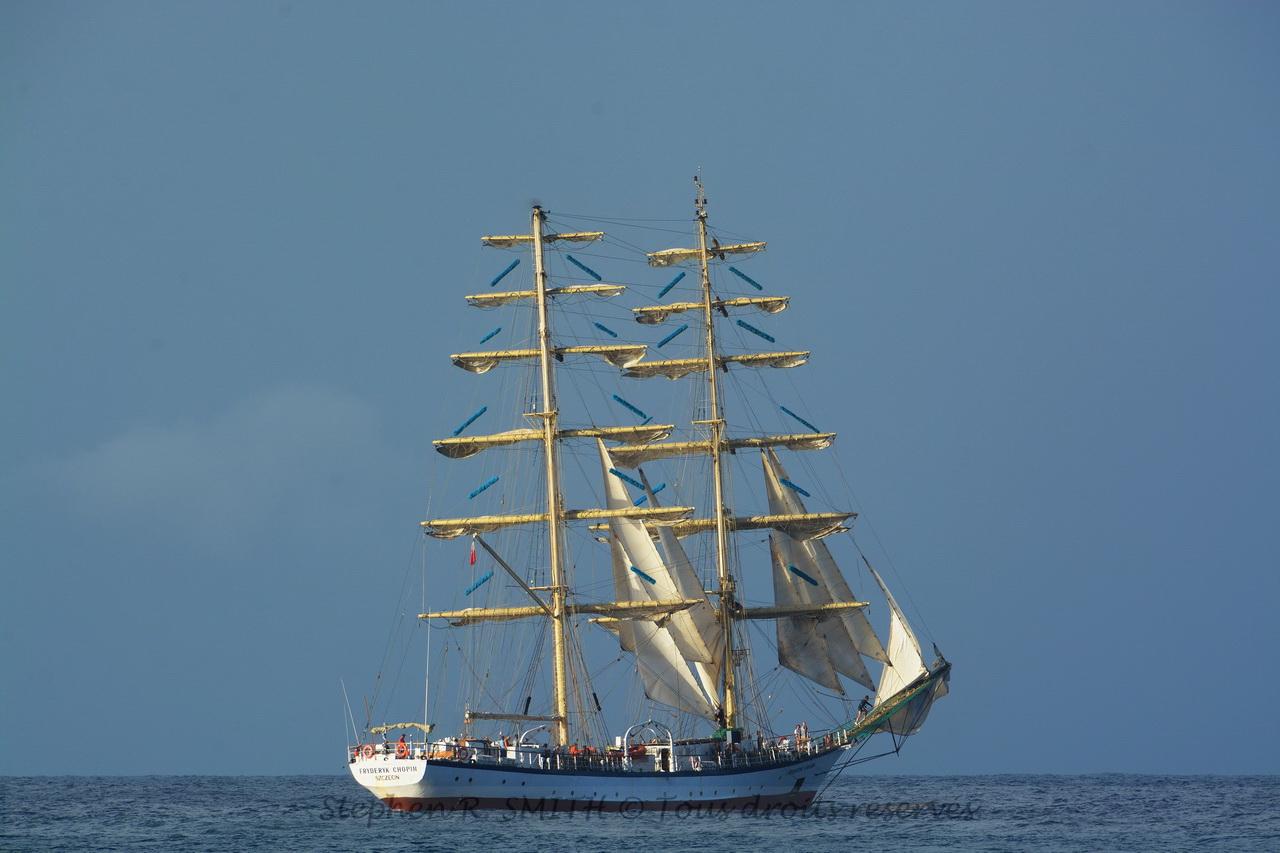 Un très beau voilier -Barbados Sailing Week - 5 bonnes raisons de visiter la Barbade